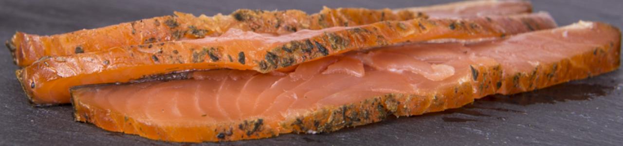 Salmone affumicato e selvaggio